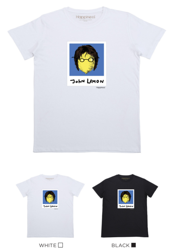 T-shirt Uomo - John Lemon - Happiness Shop Online