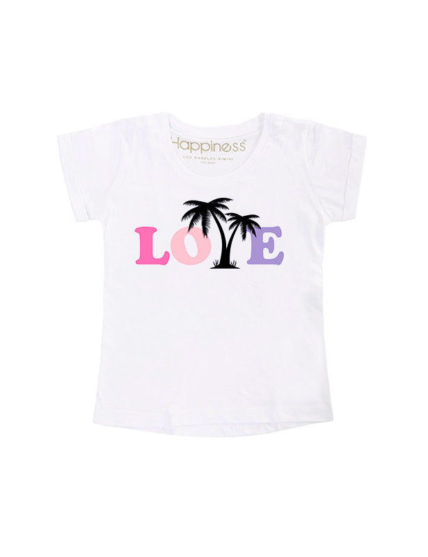 T-Shirt Bambina - Love - Happiness Shop Online