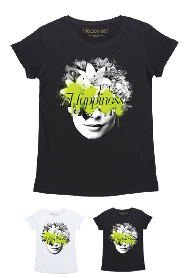 T-Shirt Bimba - Mind Flowers - Happiness Shop Online