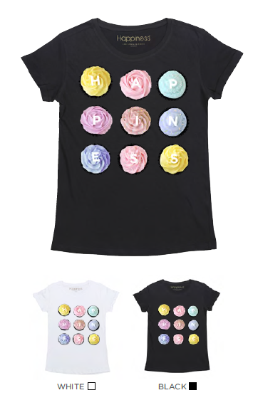 T-Shirt Bimba - Happiness Cupcakes - Happiness Shop Online