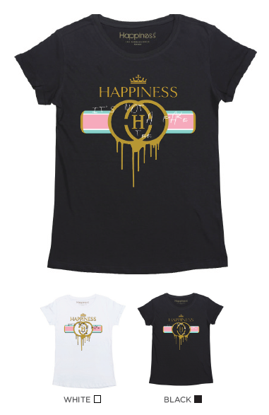 T-Shirt Bimba - Happiness Not A Fake - Happiness Shop Online
