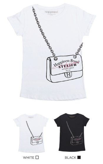 T-Shirt Bimba - Happiness Atelier - Laminata - Happiness Shop Online