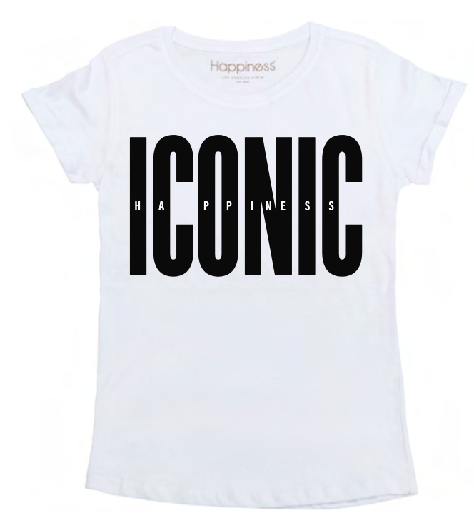 T-Shirt Bimba - Iconic Happiness - Happiness Shop Online
