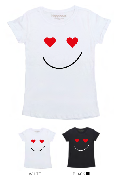 T-Shirt Bimba - Lover Smile - Happiness Shop Online