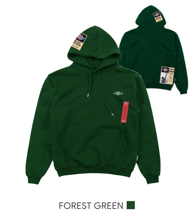 Hoodie Uomo - Only Sleep Patch - Happiness Shop Online