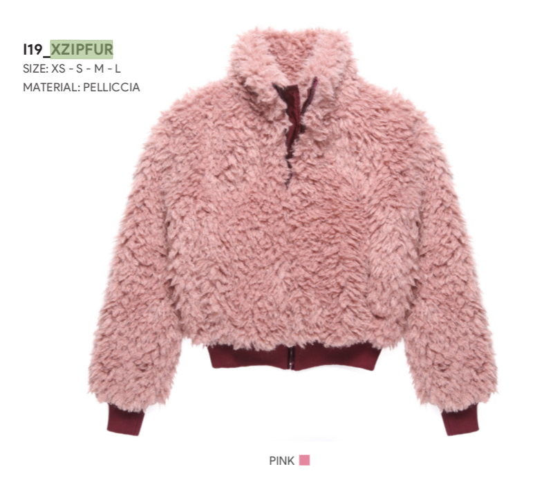 Pellicciotto Donna - Xzip Happiness - Happiness Shop Online