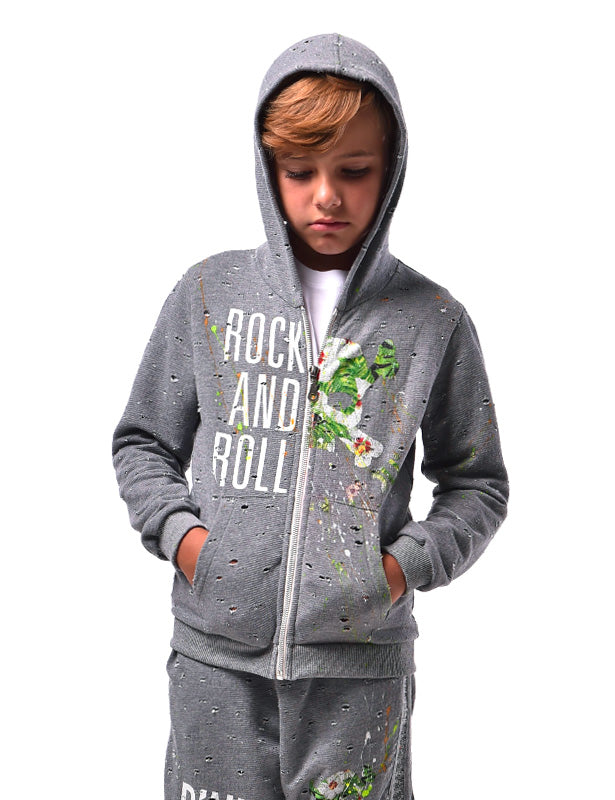 Felpa Zip Bambino RNR - Happiness Shop Online