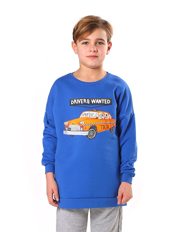 Felpa Over Bambino - Drivers Wanted - Happiness Shop Online