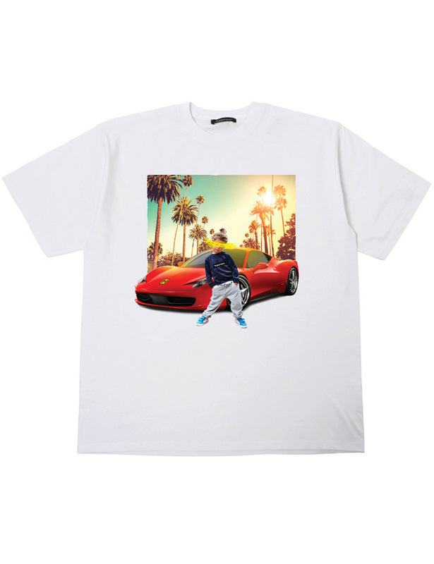T-shirt Bambino Over - Z Car Landscape - Happiness Shop Online