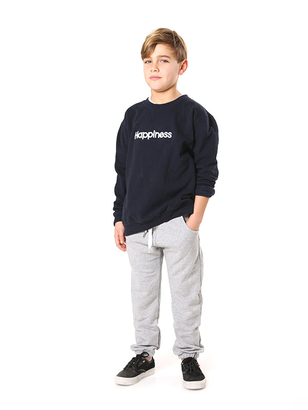Crew Bambino - Happiness Embroidered - Happiness Shop Online