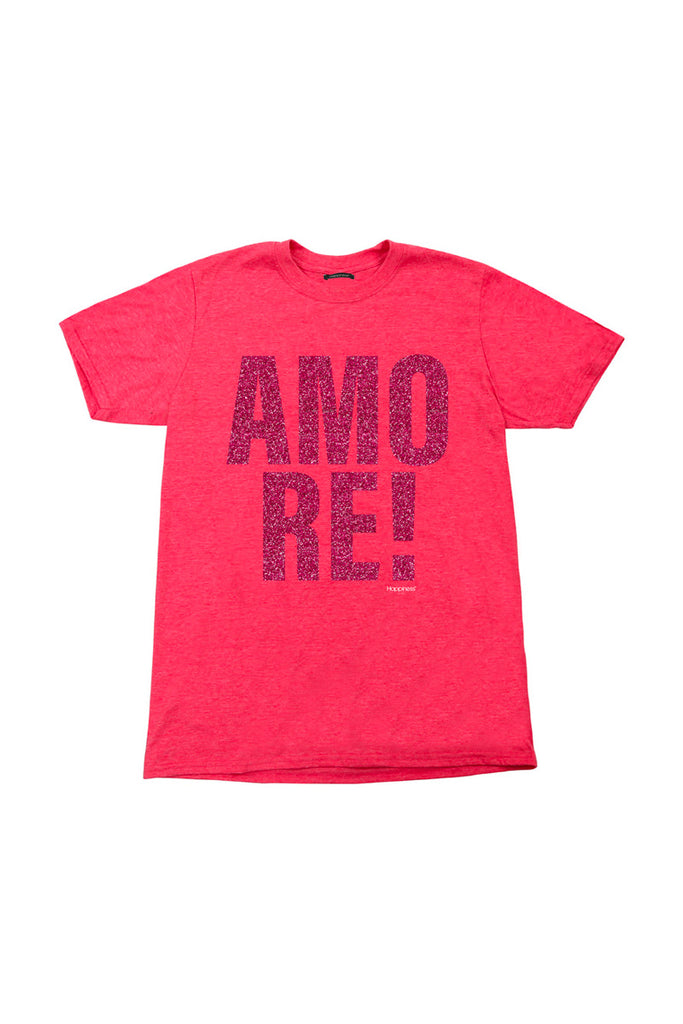 T-Shirt Girl - Happiness Amore Glitter - Happiness Shop Online