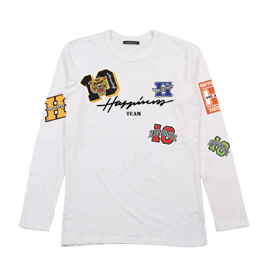 T-Shirt Long Sleeves Bimbo - Happiness 10 Tiger - Happiness Shop Online