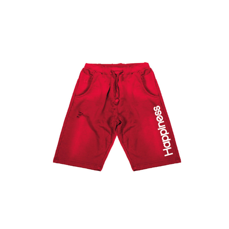 Pantaloncino Jogger Kids Rosso - Happiness Shop Online