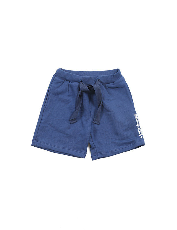 Pantaloncino Jogger Kids Navy - Happiness Shop Online