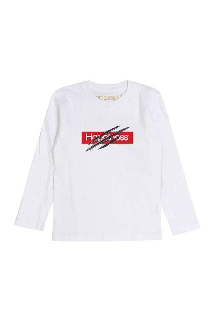 T-Shirt Long Sleeves Kids - Happiness Cut - Happiness Shop Online