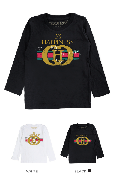 T-Shirt Long Sleeves Bimbo - Happiness Not A Fake - Happiness Shop Online