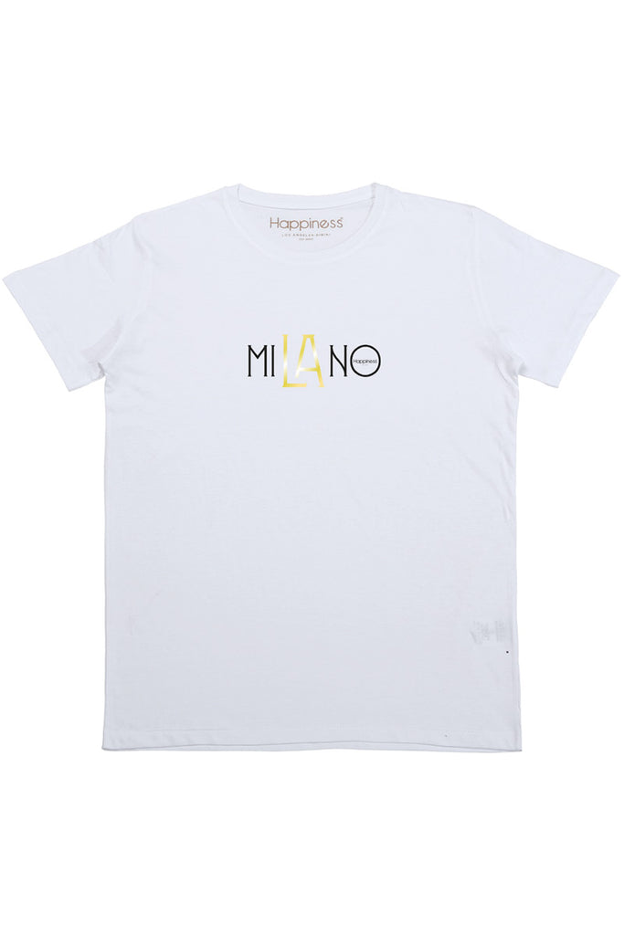 T-Shirt Donna - Milano Laminata - Happiness Shop Online
