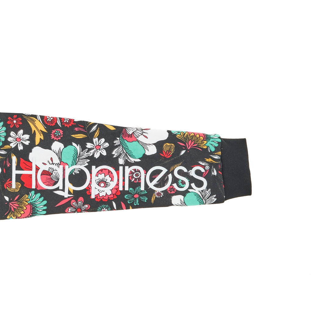 Crop Donna - Happiness Sleeve Print e nodo New Flo - Happiness Shop Online
