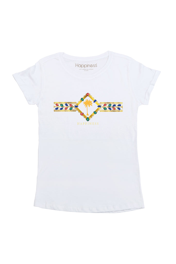 T-Shirt Donna - Palm Maroc - Happiness Shop Online