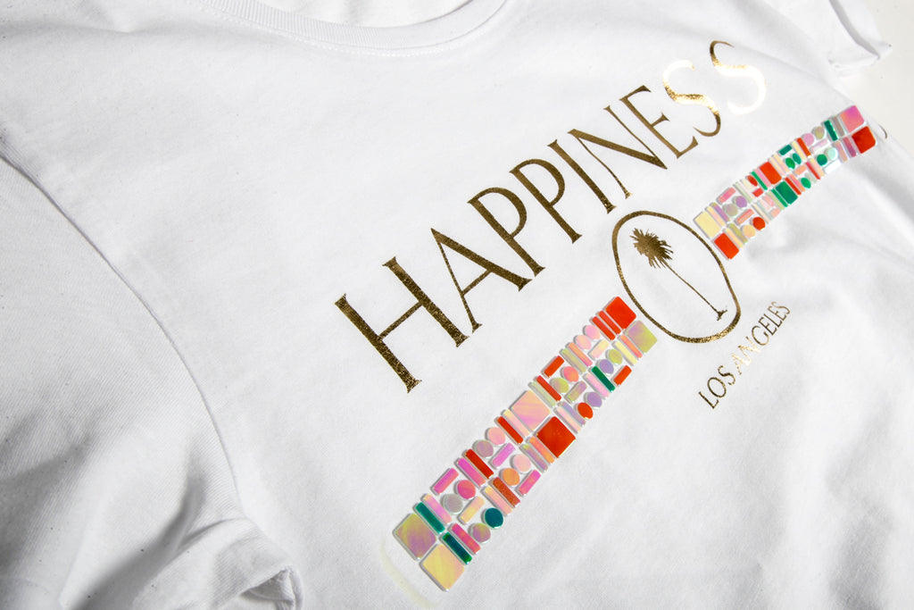 T-Shirt Donna - Happiness Logo Applicazioni - Happiness Shop Online