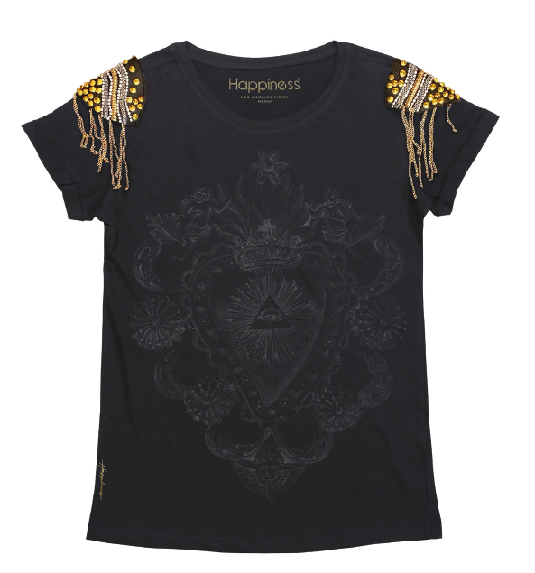 T-Shirt Donna - PGR Heart - Happiness Shop Online