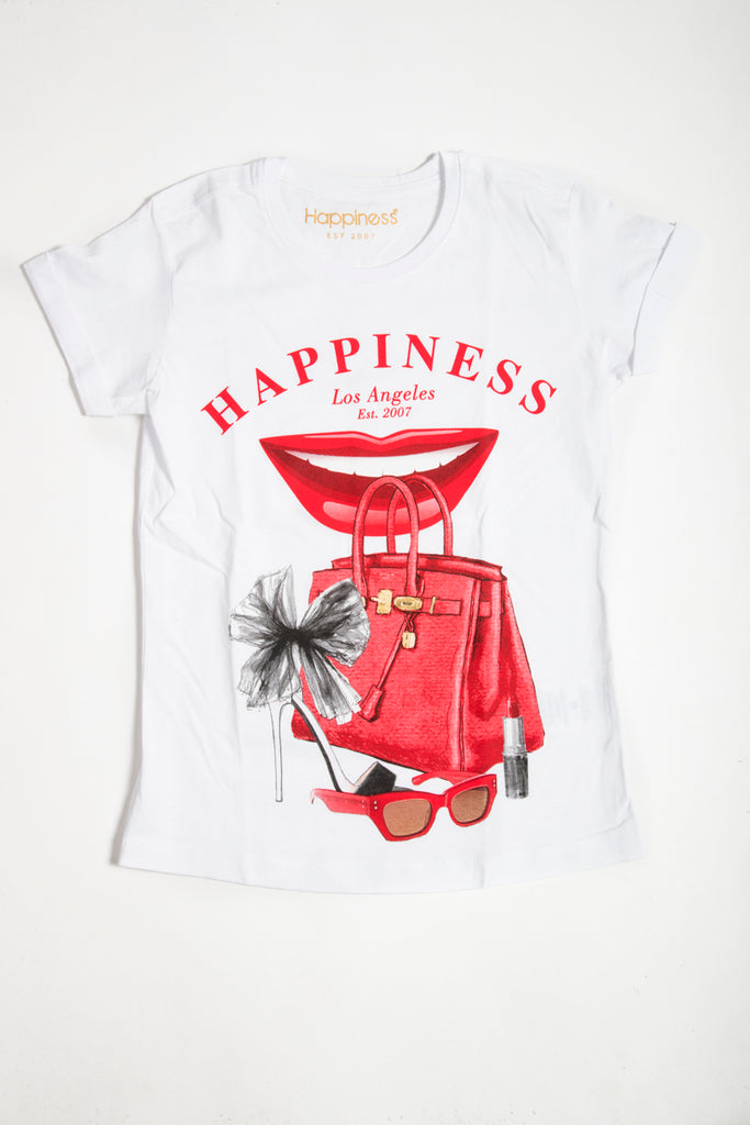 T-Shirt Donna - Happiness Accessories - Happiness Shop Online
