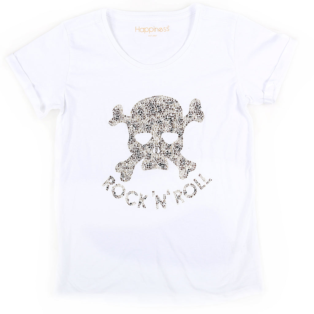 T-Shirt Donna - Skull Leo - Happiness Shop Online