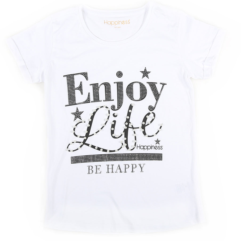 T-Shirt Donna - Enjoy Life - Happiness Shop Online