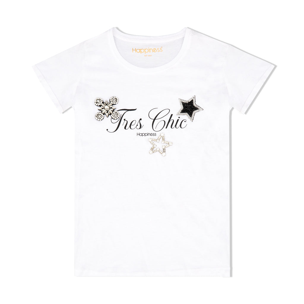 T-Shirt Donna - Très Chic - Happiness Shop Online