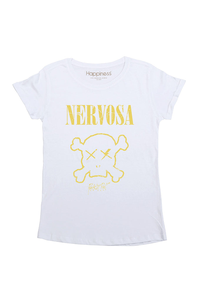 T-Shirt Donna - Nervosa - Happiness Shop Online