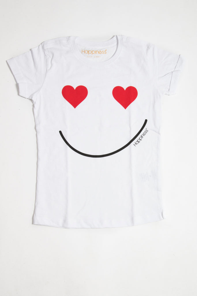 T-Shirt Donna - Lover Smile - Happiness Shop Online