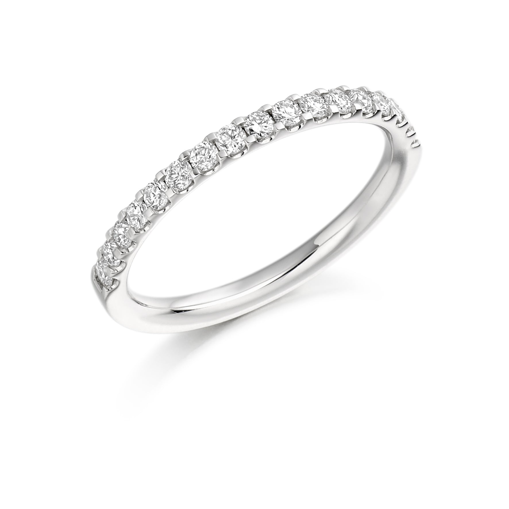 0.33ct Round Brilliant Cut Diamonds Eternity Ring - (Home Try-On)