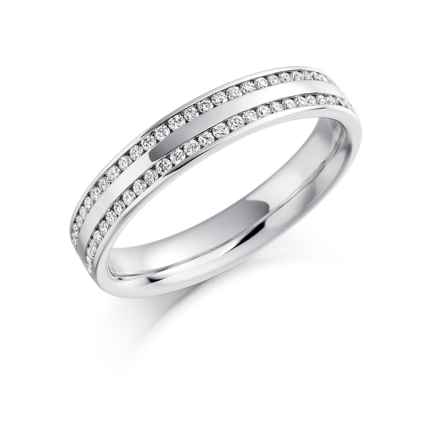 0.26ct Round Brilliant Cut Wedding Ring - (Home Try-On)