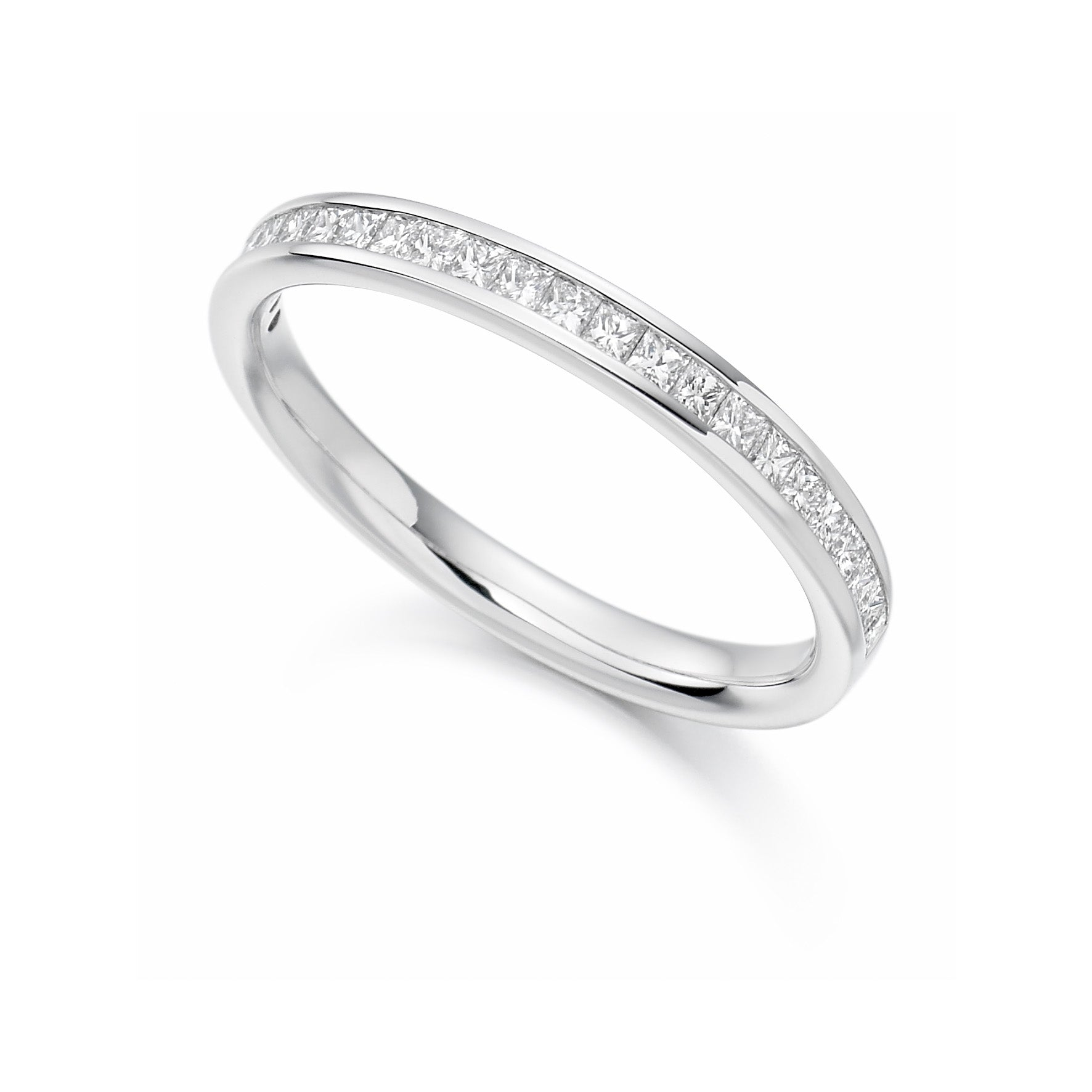 0.33ct Princess Cut Diamond Eternity Ring - (Home Try-On)