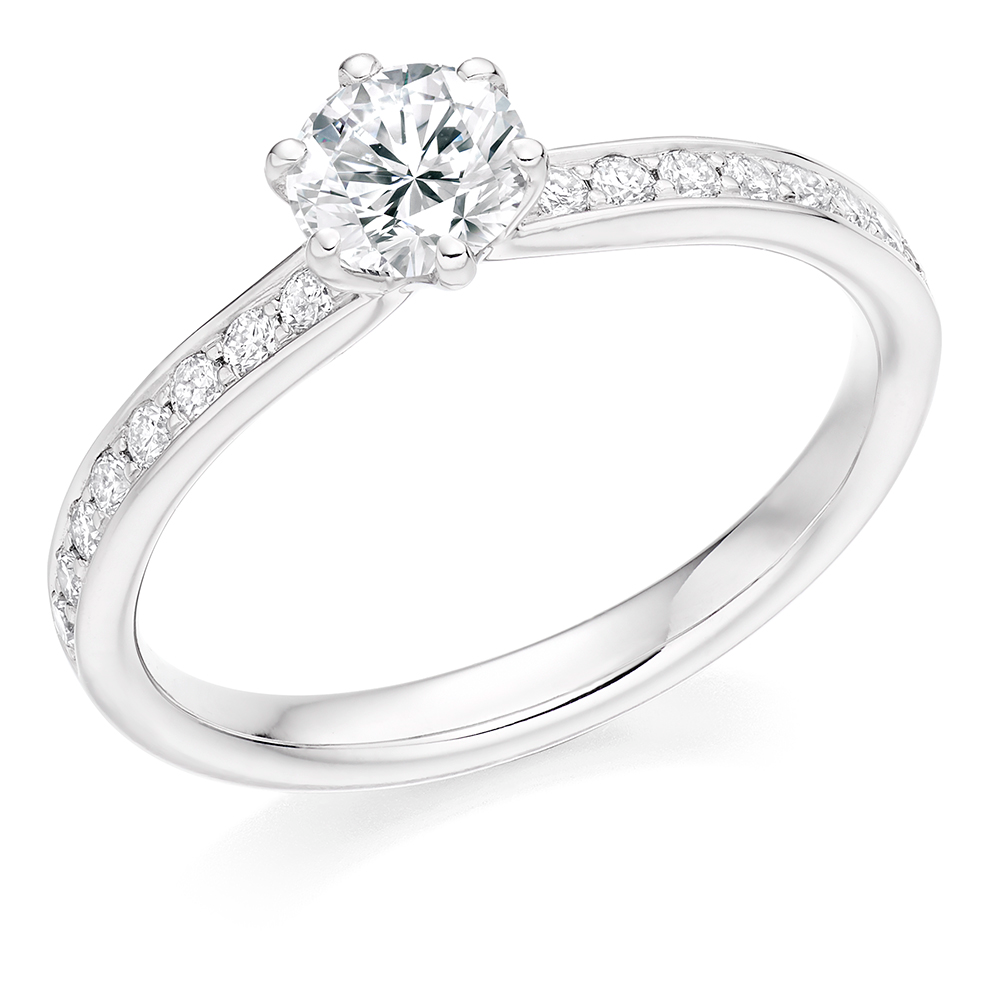 Solitaire Engagement Ring 0.50ct - Home Try-On (€3,380)