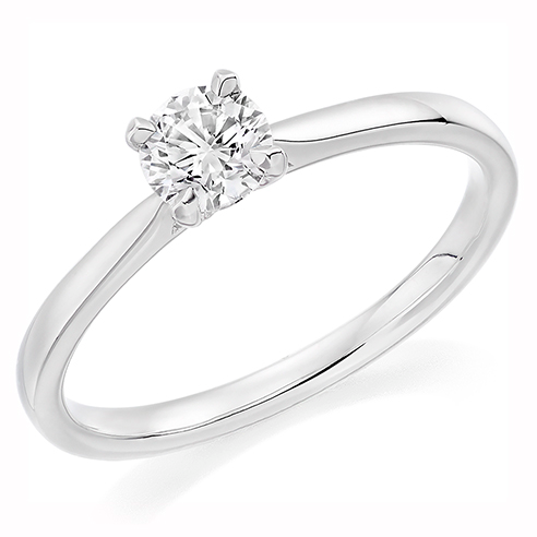 Solitaire Engagement Ring 0.33ct - Home Try-On (€2,025)