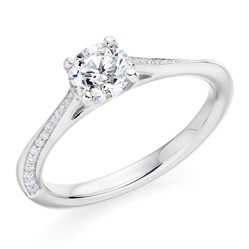 Solitaire Engagement Ring 0.75ct - Home Try-On (€6,950)