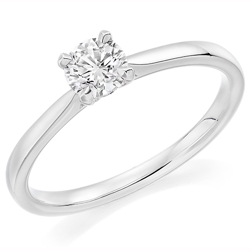 Solitaire Engagement Ring 0.75ct - Home Try-On