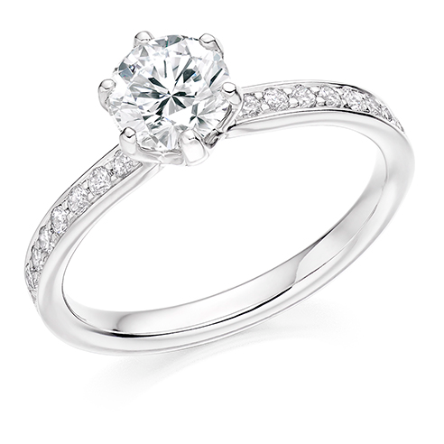 Solitaire Engagement Ring 0.90ct - Home Try-On (€7,900)