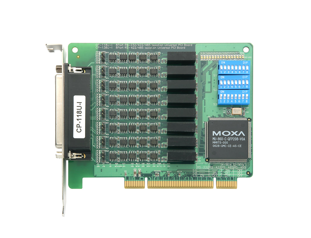 Moxa CP-118U-I 8 Port SCSI PCI Card