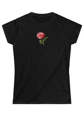 Rosy Red Vintage Aesthetic Graphic T Shirt