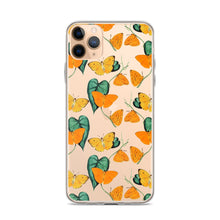 Load image into Gallery viewer, Summer Butterflies iPhone Case