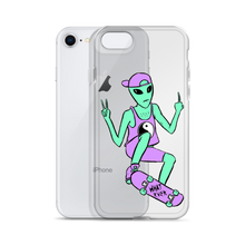 Load image into Gallery viewer, Alien Skater iPhone Case