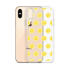 Load image into Gallery viewer, Watercolour Lemon iPhone Case