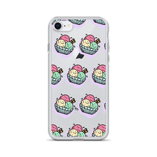 Load image into Gallery viewer, Kawaii Ice Cream Bowl iPhone Case