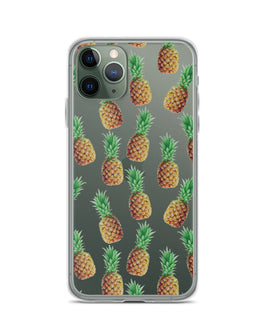 Floating Pineapples iPhone Case