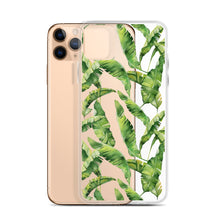 Load image into Gallery viewer, Tropical Foliage iPhone Case