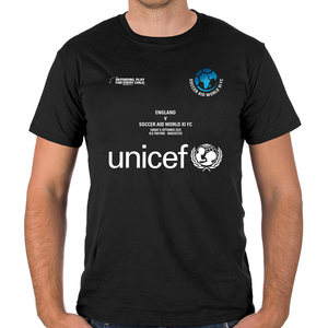World XI FC Event T-Shirt with Player Listing (Black)