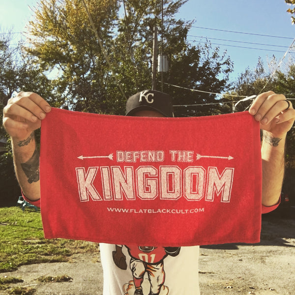 DEFEND THE KINGDOM RALLY TOWEL