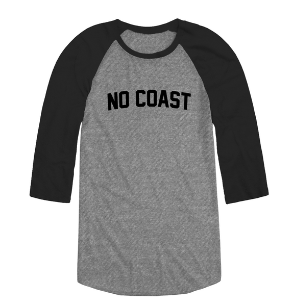 NO COAST RAGLAN